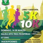 Iguazú: El domingo 14 de Marzo se realizará la corrida de calle 5k-10k