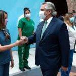 El Presidente anunció un bono mensual de 6.500 pesos para el personal de salud