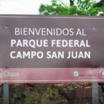 La reserva Campo San Juan es el primer Parque Federal del país con un área protegida de 5.100 hectáreas